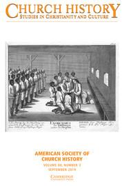Church History Volume 88 - Issue 3 -