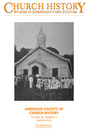 Church History Volume 89 - Issue 1 -