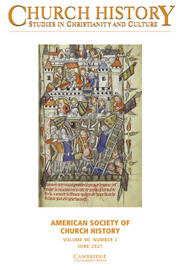 Church History Volume 90 - Issue 2 -