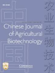 Chinese Journal of Agricultural Biotechnology Volume 4 - Issue 3 -