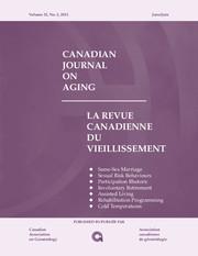 Canadian Journal on Aging / La Revue canadienne du vieillissement Volume 32 - Issue 2 -