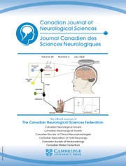 Canadian Journal of Neurological Sciences