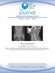 Canadian Journal of Neurological Sciences Volume 42 - Issue 3 -