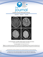 Canadian Journal of Neurological Sciences Volume 42 - Issue 4 -