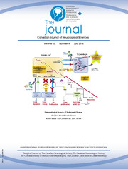 Canadian Journal of Neurological Sciences Volume 43 - Issue 4 -