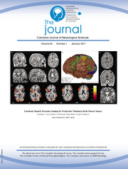 Canadian Journal of Neurological Sciences Volume 44 - Issue 1 -