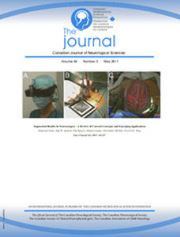 Canadian Journal of Neurological Sciences Volume 44 - Issue 3 -