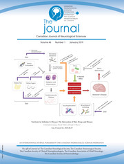 Canadian Journal of Neurological Sciences Volume 46 - Issue 1 -