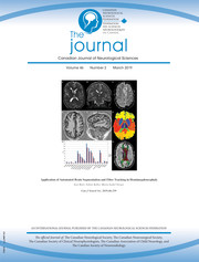 Canadian Journal of Neurological Sciences Volume 46 - Issue 2 -