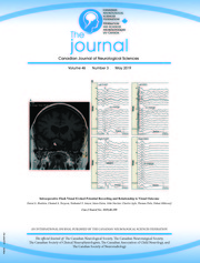 Canadian Journal of Neurological Sciences Volume 46 - Issue 3 -