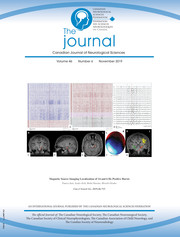 Canadian Journal of Neurological Sciences Volume 46 - Issue 6 -