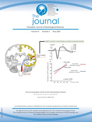 Canadian Journal of Neurological Sciences Volume 47 - Issue 3 -