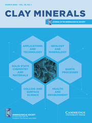 Clay Minerals Volume 55 - Issue 1 -
