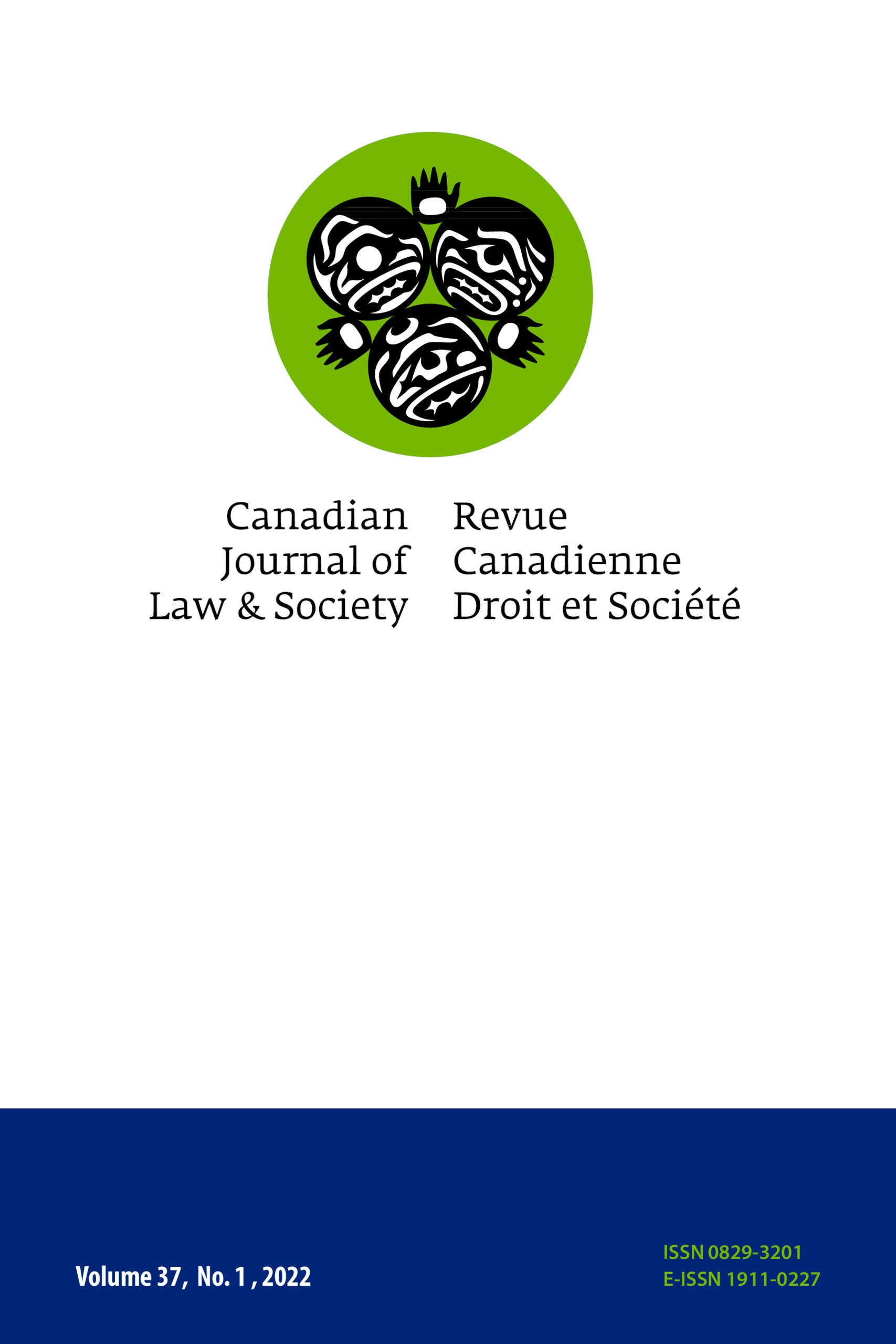 Canadian Journal of Law and Society / La Revue Canadienne