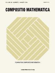 Compositio Mathematica Volume 140 - Issue 1 -
