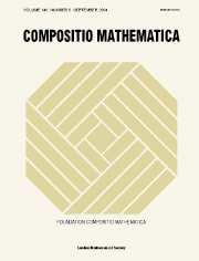 Compositio Mathematica Volume 140 - Issue 5 -