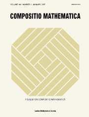 Compositio Mathematica Volume 143 - Issue 1 -