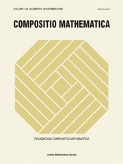 Compositio Mathematica Volume 144 - Issue 6 -