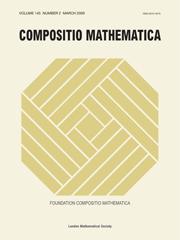 Compositio Mathematica Volume 145 - Issue 2 -
