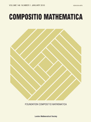 Compositio Mathematica Volume 146 - Issue 1 -