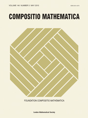 Compositio Mathematica Volume 146 - Issue 3 -