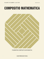 Compositio Mathematica Volume 146 - Issue 4 -