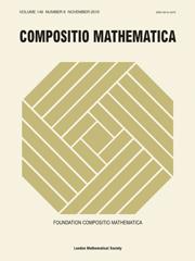 Compositio Mathematica Volume 146 - Issue 6 -