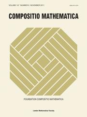Compositio Mathematica Volume 147 - Issue 6 -