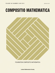 Compositio Mathematica Volume 148 - Issue 3 -