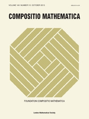 Compositio Mathematica Volume 149 - Issue 10 -
