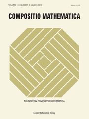 Compositio Mathematica Volume 149 - Issue 3 -