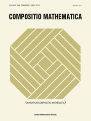 Compositio Mathematica Volume 149 - Issue 5 -