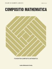 Compositio Mathematica Volume 149 - Issue 6 -
