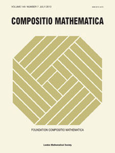 Compositio Mathematica Volume 149 - Issue 7 -