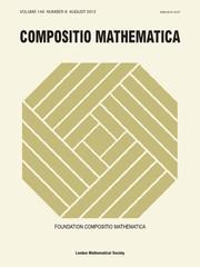 Compositio Mathematica Volume 149 - Issue 8 -