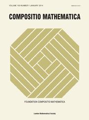Compositio Mathematica Volume 150 - Issue 1 -