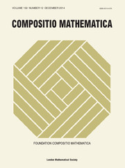 Compositio Mathematica Volume 150 - Issue 12 -