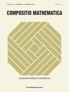 Compositio Mathematica Volume 150 - Issue 2 -