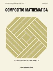 Compositio Mathematica Volume 150 - Issue 6 -