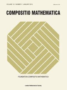 Compositio Mathematica Volume 151 - Issue 1 -