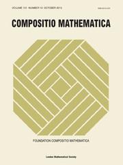 Compositio Mathematica Volume 151 - Issue 10 -