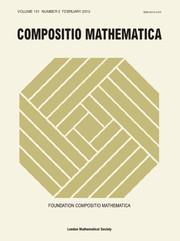 Compositio Mathematica Volume 151 - Issue 2 -