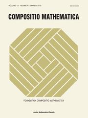 Compositio Mathematica Volume 151 - Issue 3 -