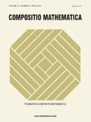 Compositio Mathematica Volume 151 - Issue 4 -