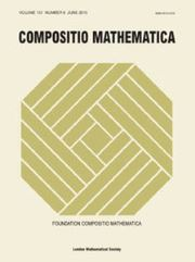 Compositio Mathematica Volume 151 - Issue 6 -
