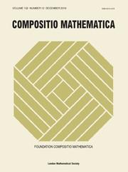 Compositio Mathematica Volume 152 - Issue 12 -