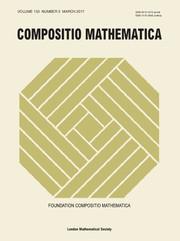 Compositio Mathematica Volume 153 - Issue 3 -