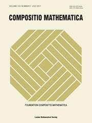 Compositio Mathematica Volume 153 - Issue 7 -