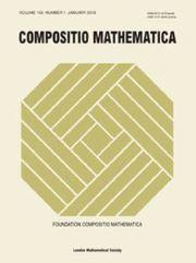 Compositio Mathematica Volume 154 - Issue 1 -