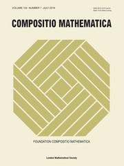 Compositio Mathematica Volume 154 - Issue 7 -